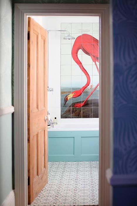 Tendencias de decoración: pon un flamenco en tu casa