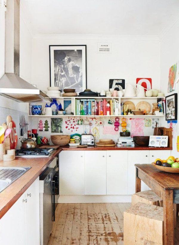 Una cocina preciosa y real