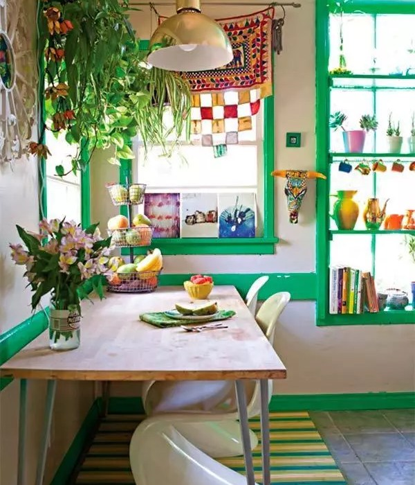 La casa bohemia de la diseñadora Justina Blakeney