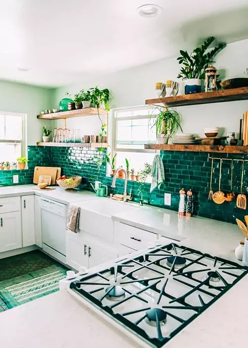 Una cocina muy natural