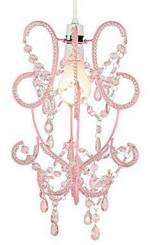 Lámpara de decoración en color rosa