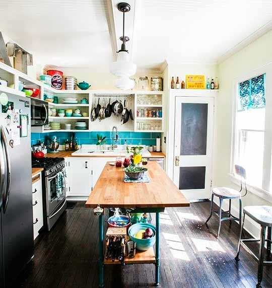 Decorar una cocina de forma original