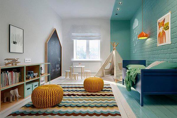 Decorar paredes de un dormitorio infantil
