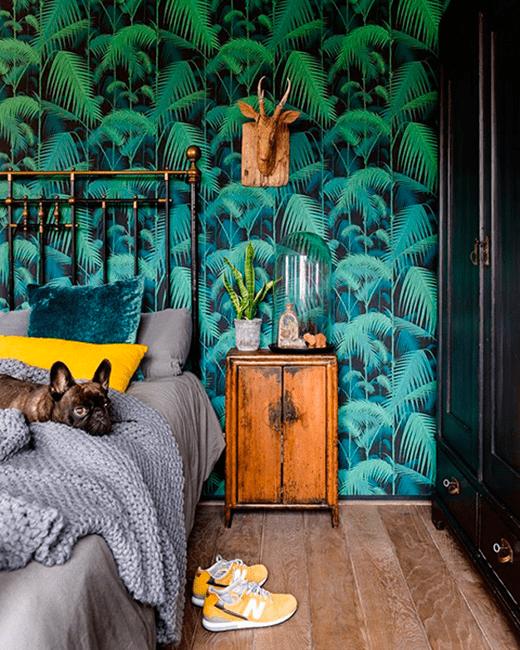 Viaja desde casa con decoración tropical