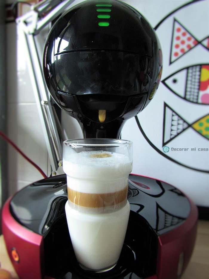 La última gota del Latte Macchiato, vainilla