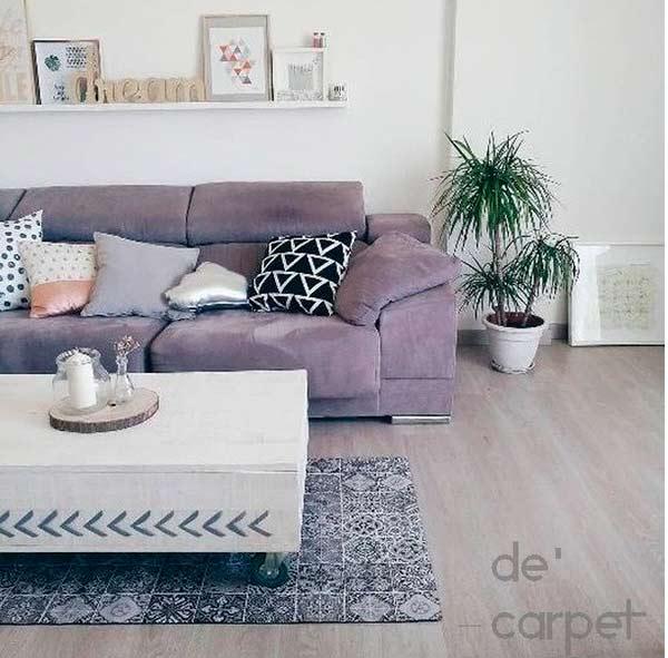 Decorar con alfombras vinílicas. ¡Sorteamos una!