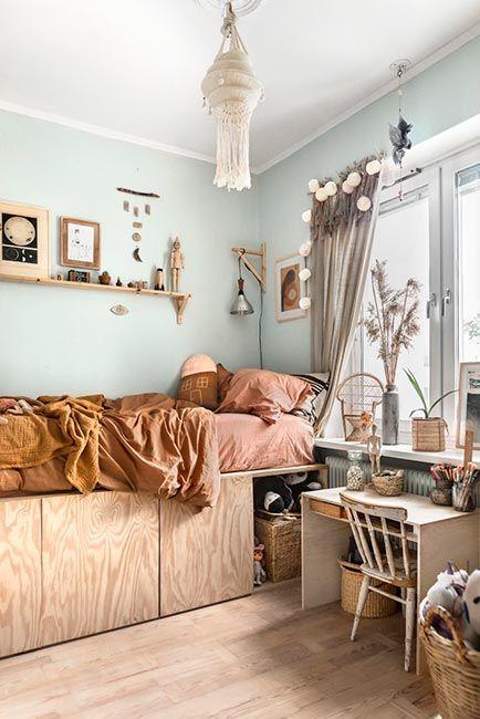 Habitación infantil natural en Estocolmo