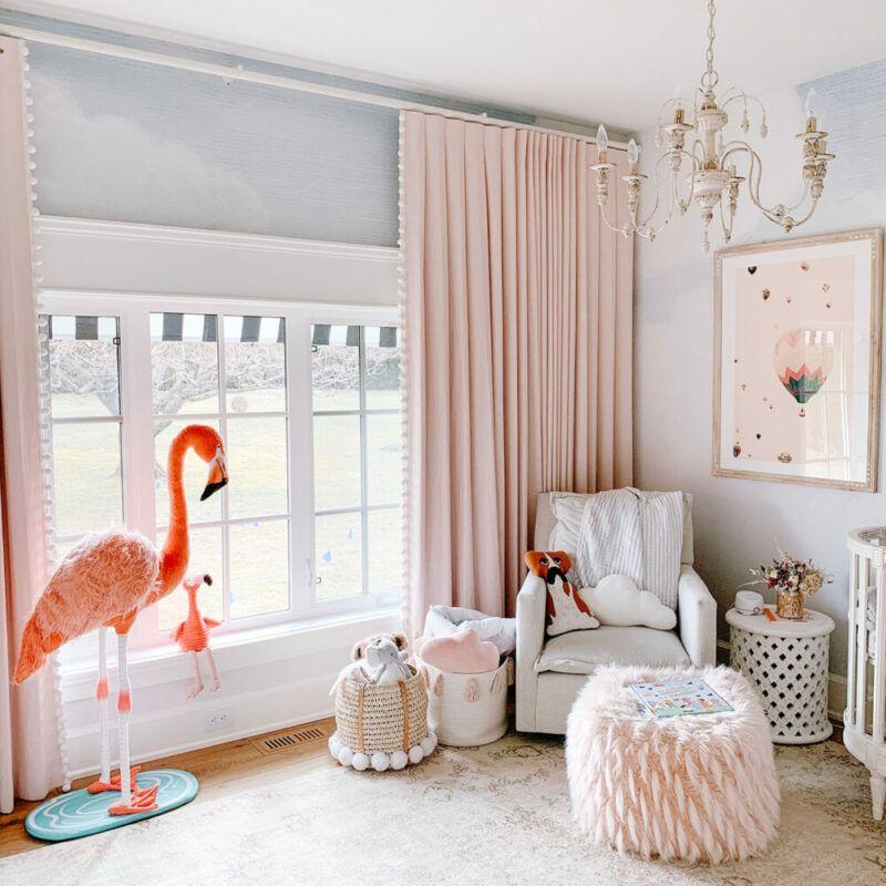 Dormitorio infantil en la casa de Jillian Harris