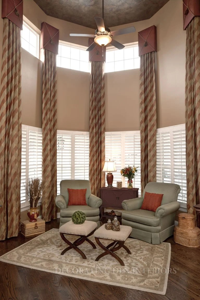 Window Treatments For Living Room And Dining