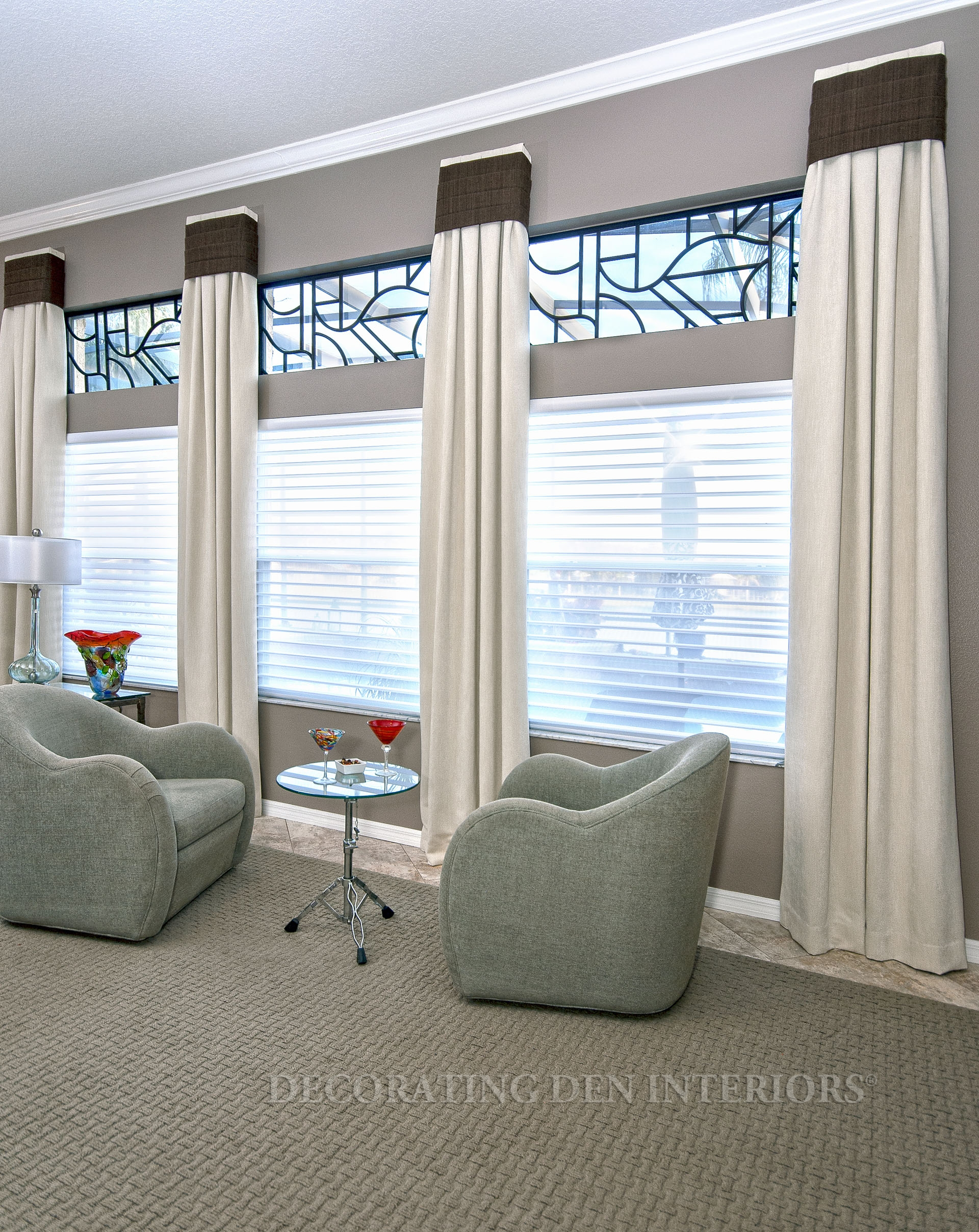 large living room ideas window treatment shades calico 43302