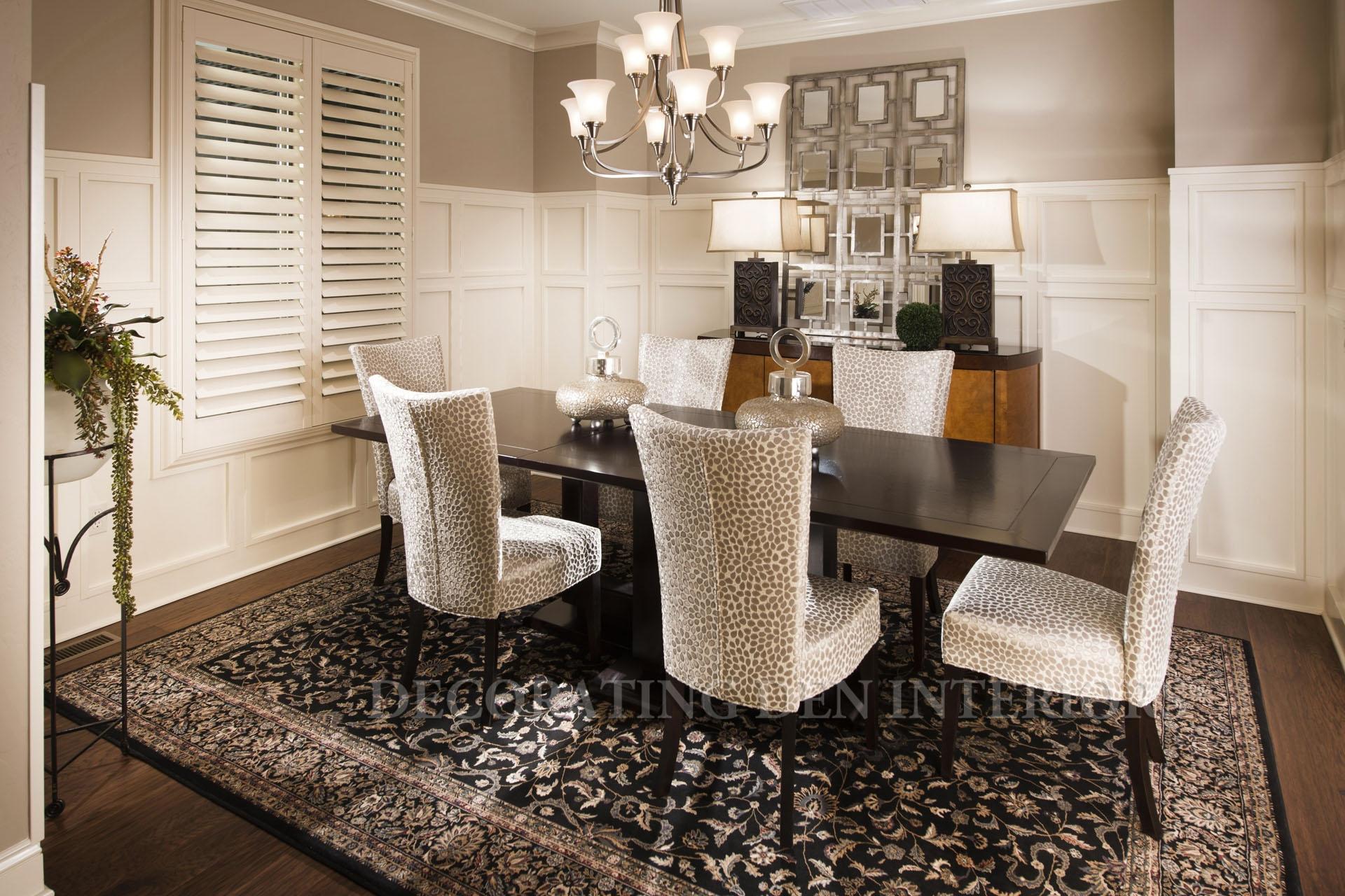 Dining  Decorating Den Interiors