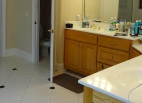Stone Mountain GA Bathroom  Decorating Den Interiors