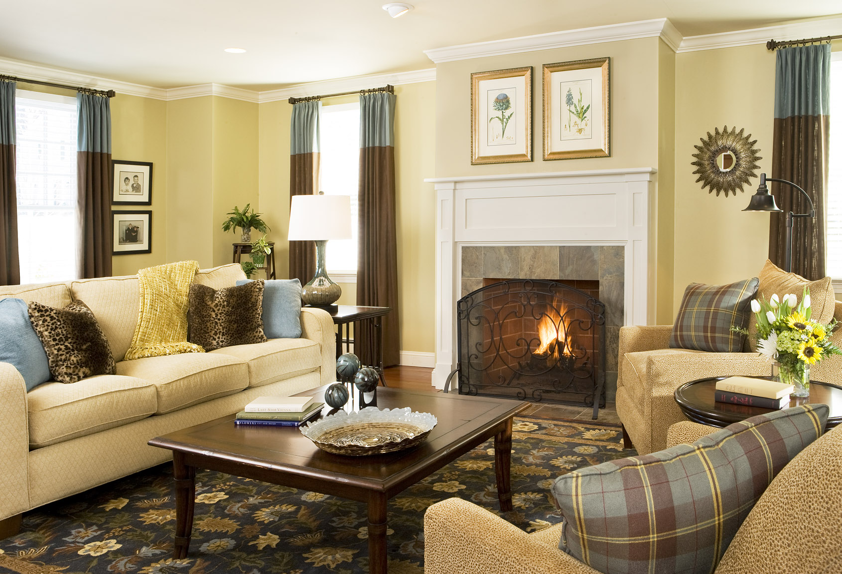 Color Decorating Ideas For Living Rooms