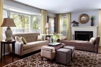 Transitional Living Room | Modern World Furnishing Designer