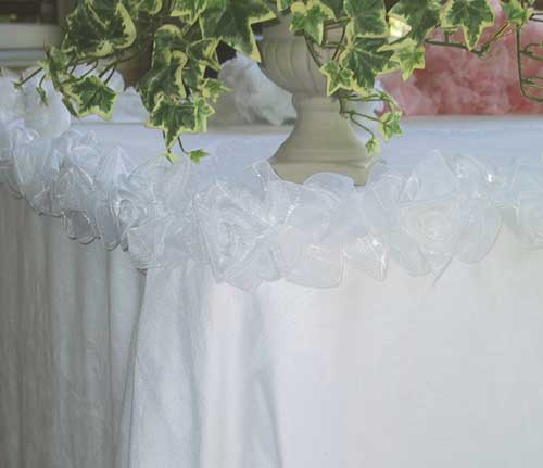 Decoration For Wedding Receptions Table Skirting Sbd Events And