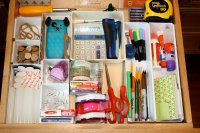 Organize Your Junk Drawer | Decorating Your Small Space