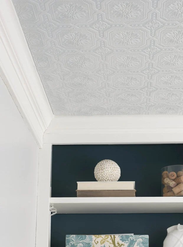 10 Textured Wallpaper Projects  Decorating Your Small Space