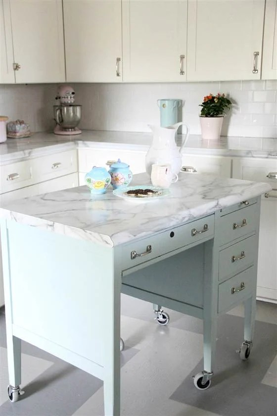 diy kitchen island on wheels subway tile backsplash ideas & projects | decorating your ...