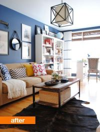 Small Living Room Makeovers | Decorating Your Small Space