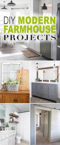 DIY Modern Farmhouse Decor Projects