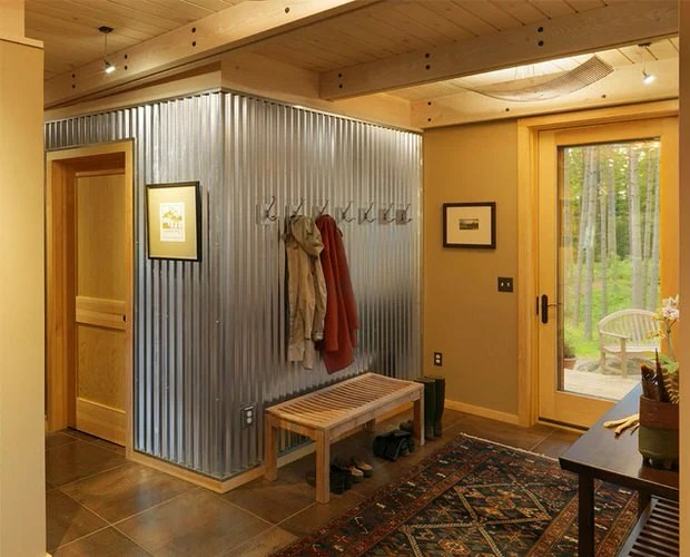 Ways to Decorate with Corrugated Metal