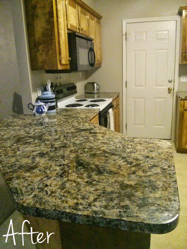 kitchen makeover ideas home depot countertops laminate diy painted | decorating your small space