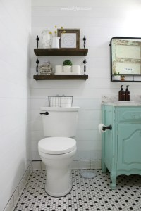 Small Bathroom Ideas & DIY Projects