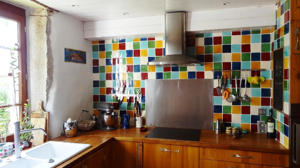 Faience Murale Pour Une Cuisine Couleurs Carrelage Mural Terre Cuitedecoration Cuisine