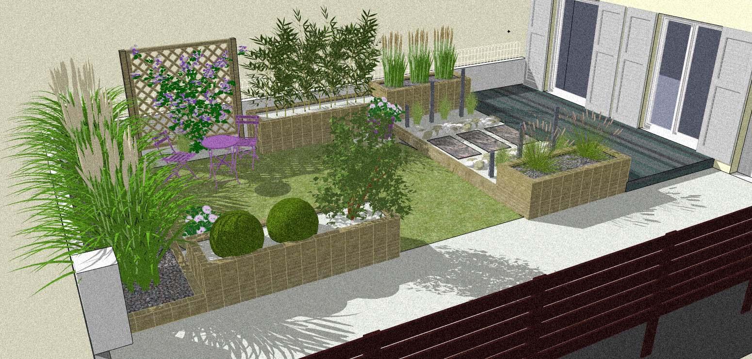 amenagement jardin 974