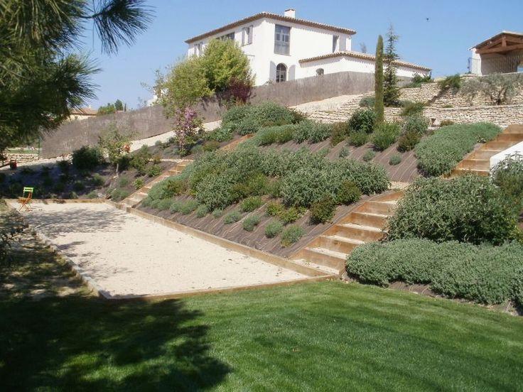 amenagement jardin avec butte
