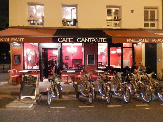 decoration exterieur cafe