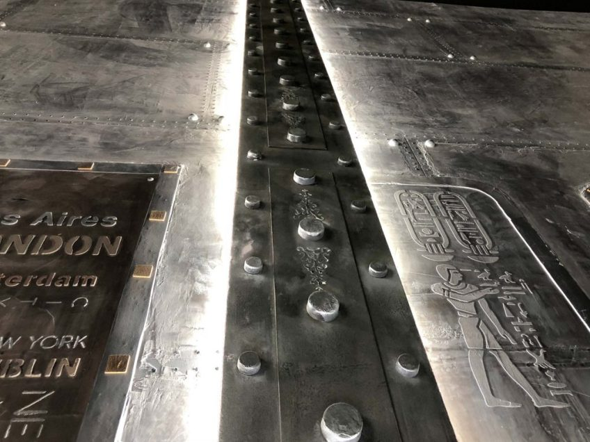 murs métal et IPN style Eiffel