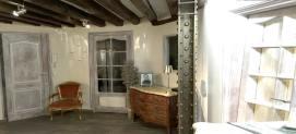 le loft style industriel avec IPN style eiffel et poutres napoléoniennes