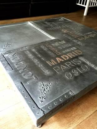 table de style industrielle