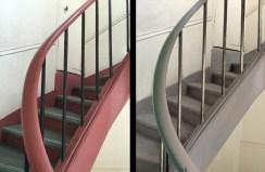 cage d'escaliers à rénover