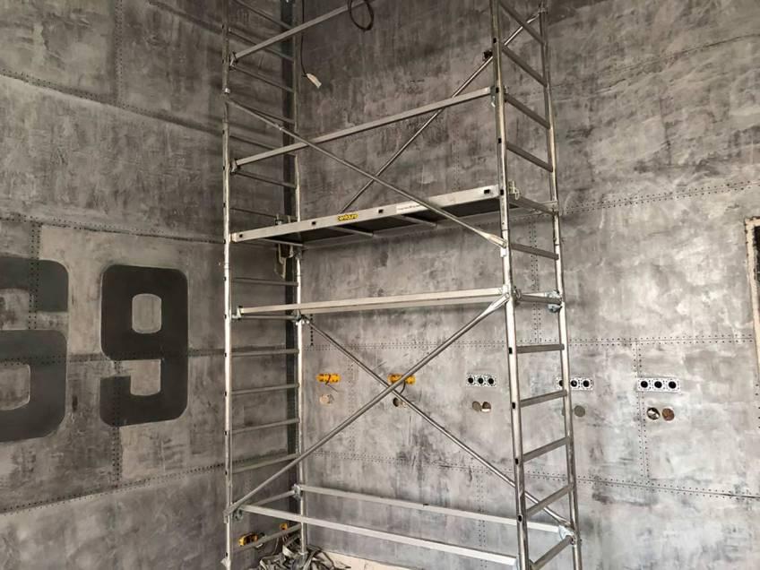 décorateur de style industriel pour murs métal
