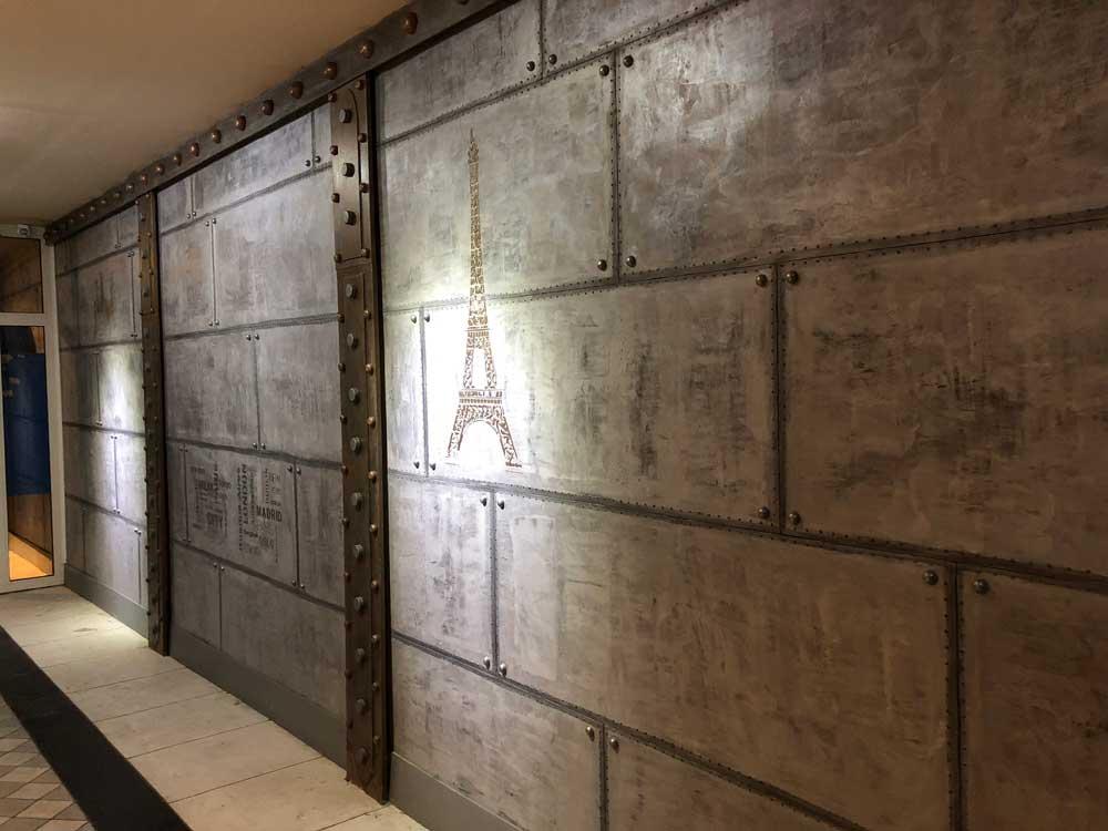 Décorateur De Murs Style Industriel Créations Bgauthiez Mur Métal