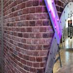 murs métal décoration de style industriel