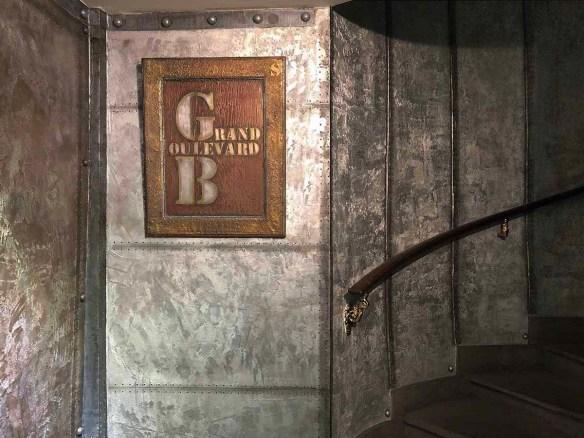 Le décor cinema style industriel décoration murs métal
