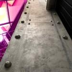 poutre murs métal style industriel