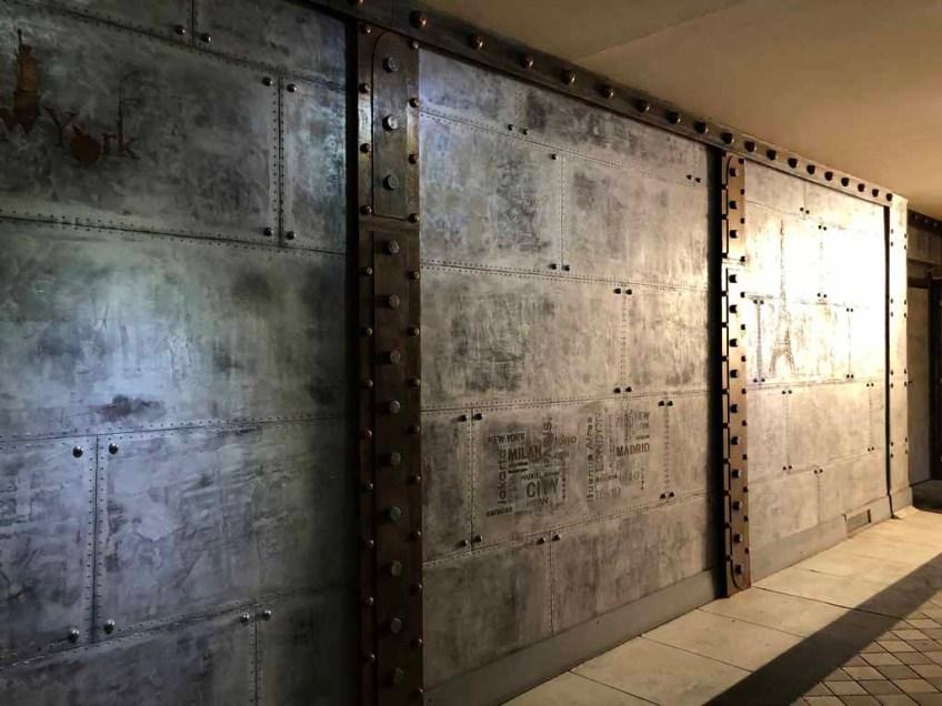 murs metal et ipn style Eiffel