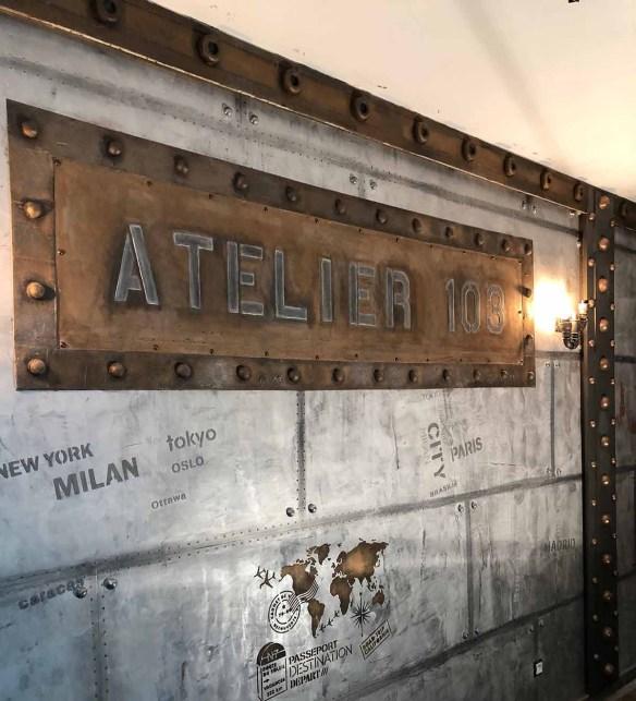 mur métal avec IPN style eiffel