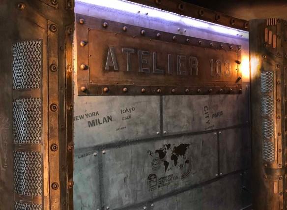 décoration style eiffel murs métal restaurant style industriel