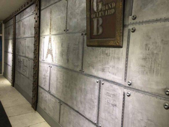 tableau métal lieux connus