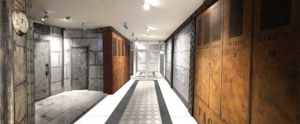 Décorateur d'intérieur pour des murs métal style Eiffel