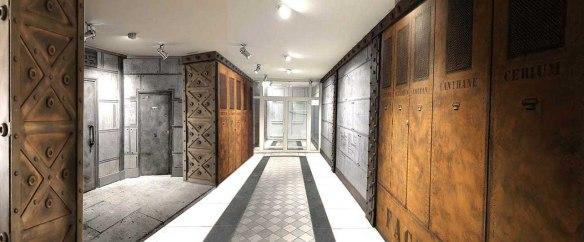 décorateur de volumes et surfaces - murs style industriel