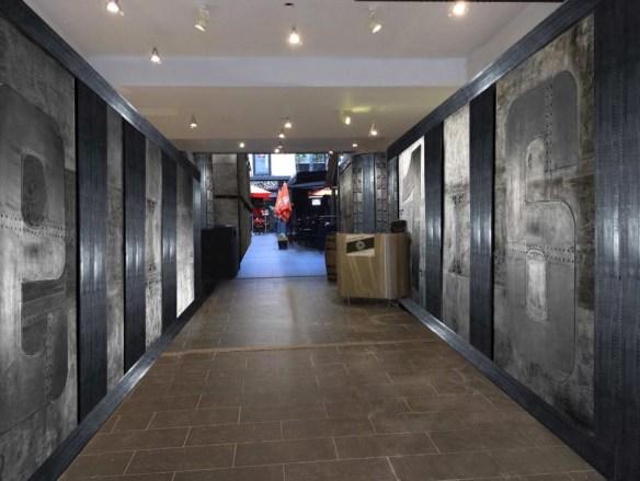 décorateur d'intérieur murs industriel