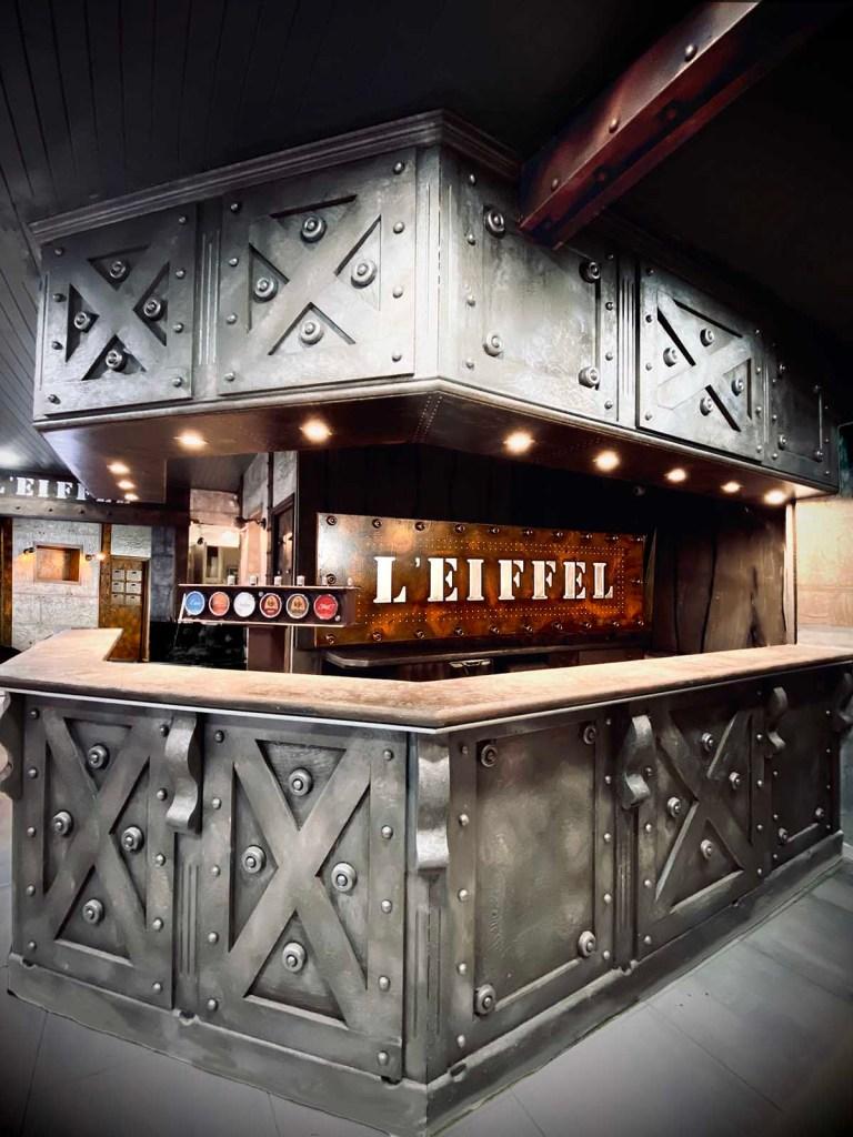Déco bistrot de paris bar style eiffel