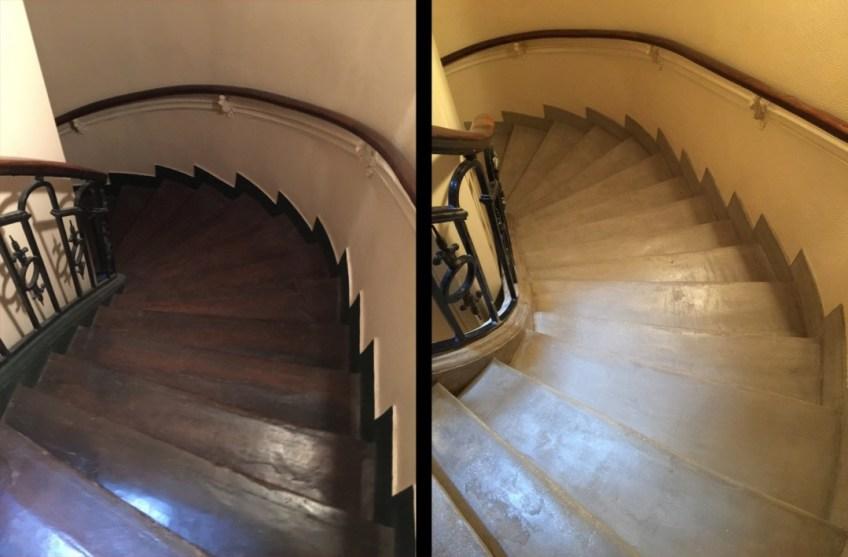 rénovation cage d'escalier décorateur d'intérieur