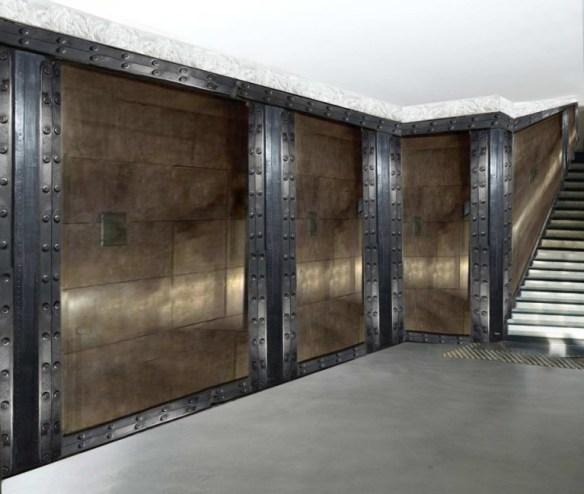 déco peinture métal et mur métal style industriel et IPN style eiffel